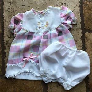 Other - BABY'S PLAID DRESS WITH UNDER GARMENT INCLUDED